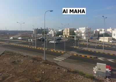 Al Maha Y junction